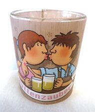 """Gilde Windlicht mit Spruch """" Hüttenzauber """" 45830 Teelichthalter Kerze Teelicht"""