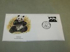 **LOOK** Lovely wrapped CHINA 1985 Commemorative FDC First Day Cover GIANT PANDA