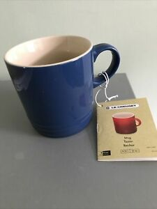 Le Creuset Blue Mug 350ml BRAND NEW UK Seller 0.35l 12oz Coffee Tea