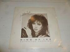 "JENNIFER RUSH - Ring Of Ice - 1985 UK 2-track 12"" vinyl single"