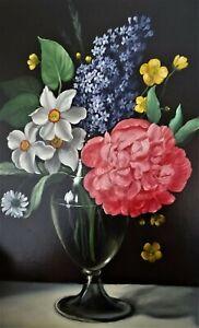 bouquet de fleurs signé marie moulinier