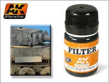 AK WEATHERING FILTER FOR PANZER GREY VEHICLES 35ml