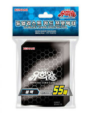 "Yugioh Cards Sleeves [55PCS] ""Black"" / KONAMI / Sealed"