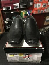 I.D. REQUIRED BOYS CARLOS DRESS SHOES Blk. Sz.4  BRAND NEW w/BOX
