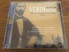 """VERDI """"Verdissimo - Great Singers For Verdi V3"""" 2cd Set NEW Bjorling/Melchior"""