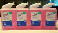 Lot of 4 Scott (formerly Kleenex) 91552 Liquid Hand Soap with Moisturizers NEW!