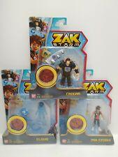 41571 Zak Storm Sino Island Playset et monnaies emballages endommagés