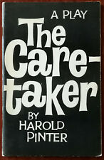 More details for harold pinter the caretaker a play in three acts 1960 encore first edition