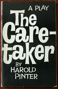 Harold Pinter The Caretaker A Play in Three Acts 1960 Encore First Edition