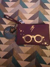 Harry Potter Purple Coin Purse/Cosemetics Bag - Brand New