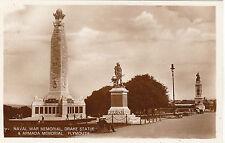 Naval War Memorial, Drake Statue & Armada Memorial, PLYMOUTH, Devon RP