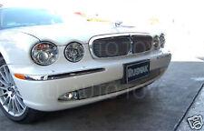 Jaguar 04-07 XJ6 XJ8 Main Mesh Grille Inserts X350 Chrome or Black