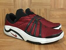 Vintage🔥 Nike Air Escape Presto Cage Black Pro Red Striped Sz 14 173281-661 '01