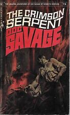 DOC SAVAGE #78: THE CRIMSON SERPENT  by Kenneth Robeson - 1st Paperback Printing