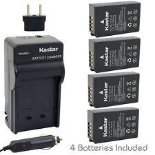 Kastar EN-EL20 Battery&Charger for Nikon Coolpix A, 1 J1,1 J2, 1 J3, 1 S1, 1 V3