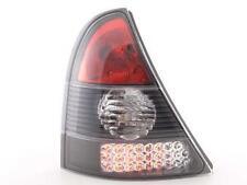 Coppia Fari Fanali Posteriori Tuning LED Renault Clio (B) 98-01, nero