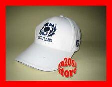 New White Scotland Flag Rugby Adults Baseball Cap Hat