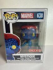 Funko Pop! #638 Marvel Mystique Metallic Target Exclusive
