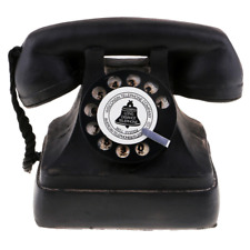 Retro Fashioned Rotary Dial Telephone Retro Landline Phone Decoration