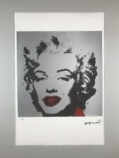 Andy Warhol Lithographie 1983 Marilyn Monroe Georges Israel nummeriert limitiert