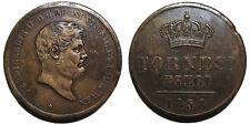 Regno delle Due Sicilie, Ferdinando II, 10 Tornesi 1858 BB