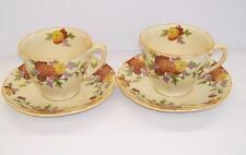 British Royal Doulton Pottery Cups & Saucers