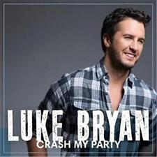 LUKE BRYAN CRASH MY PARTY Deluxe Edition 4 Extra Tracks CD NEW