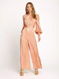 BNWT ALICE MCCALL ICED GUAVA MEMORY LANE JUMPSUIT - SIZE 10 AU/6 US (RRP $450)