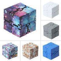 Magic Cube Infinity Fidget Anti Anxiety Pressure Relief Blocks Adult Kids Toys