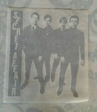 SECRET AFFAIR vintage iron on transfer x10 #725 mod revival power pop soul