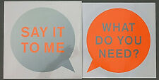 """Pet Shop Boys 12"""" Maxi Vinyl SAY IT TO ME Offer Nissim Tom Demac Real Lies Mixes"""