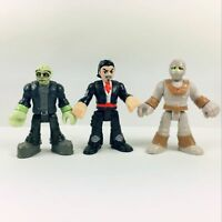 3pcs Fisher Price Imaginext Halloween Monster Figure MARIACHI Mummy Frankenstein