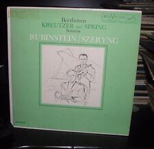 BEETHOVEN, KREUTZER AND SPRING, SONATAS, RUBINSTEIN/ SZERLING, RCA LM 2377