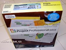 Microsoft Office Project 2003 Professional Full Licensed for 2PCs MS Pro =NEW=
