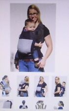 Tootsie Mama Travel Mai Tei Soft Baby Carrier w Hood Front Back Side Pack Wrap