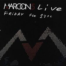 Live: Friday the 13th by Maroon 5 (CD, Bonus DVD.  Free Shipping
