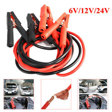 2x Jump Leads Car Trucks Lead Battery Jump Booster Cable Heavy Duty 2m 1000AMP