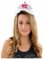 Bride To Be Tiara & Veil Hen Party Do Girls Night Out Accessories Wedding