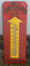 "Vintage RC Royal Crown Cola 1950's Large 26"" Thermometer Sign Working"