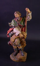 Heiliger Isidor - Holz geschnitzt & farbig gefasst