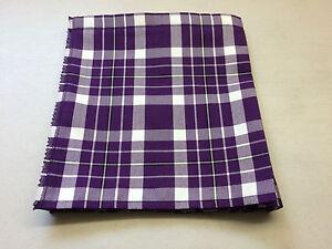 Kingdom of Fife Tartan Baby Kilt 0-3 m- 2-3 y( Waist & Length Sizes Given
