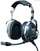 NIB PilotUSA PA-1160AI/R Aviation Pilot PNR Headset ICOM Handheld Radios RH Plug