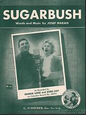 1952 Jose Marais / Frankie Laine & Doris Day Sheet Music (Sugarbush)