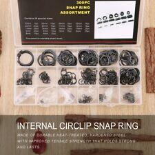 300pcs Internal Circlip Snap Ring Shop C Type Ring C-Clips Group Sets XRAU