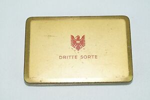alte Blechdose Austria Zigarettenfabrik München Dritte Sorte