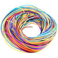 Scoubidou Bänder: Scoubidou Bastelset mit 96 Knüpfbändern in 10 Farben