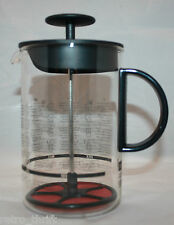 Bodum 18cm 7 inches Tall Milk Frother Black Handle Rare Design Denmark