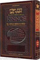 ARTSCROLL Interlinear Kinnos Tishah B'av Siddur Full Size Ashkenaz Hardcover