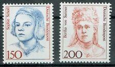 Bund MiNR 1497 + 1498 Freimarken Frauen der deutschen Geschichte postfrisch **