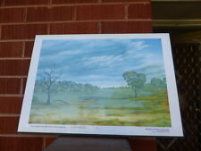 Jack Absolom - SIGNED  limited edition PRINT outback collection framed